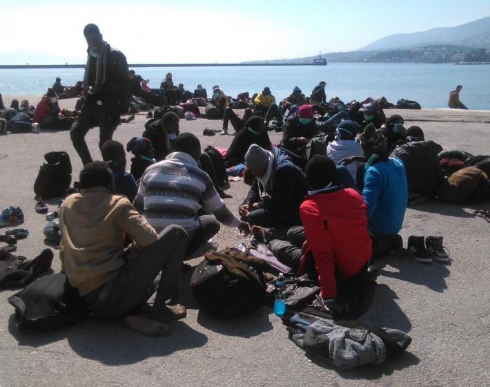 Δεύτερο κύμα μεταναστών εντοπίστηκε στον Άγιο Νικόλαο