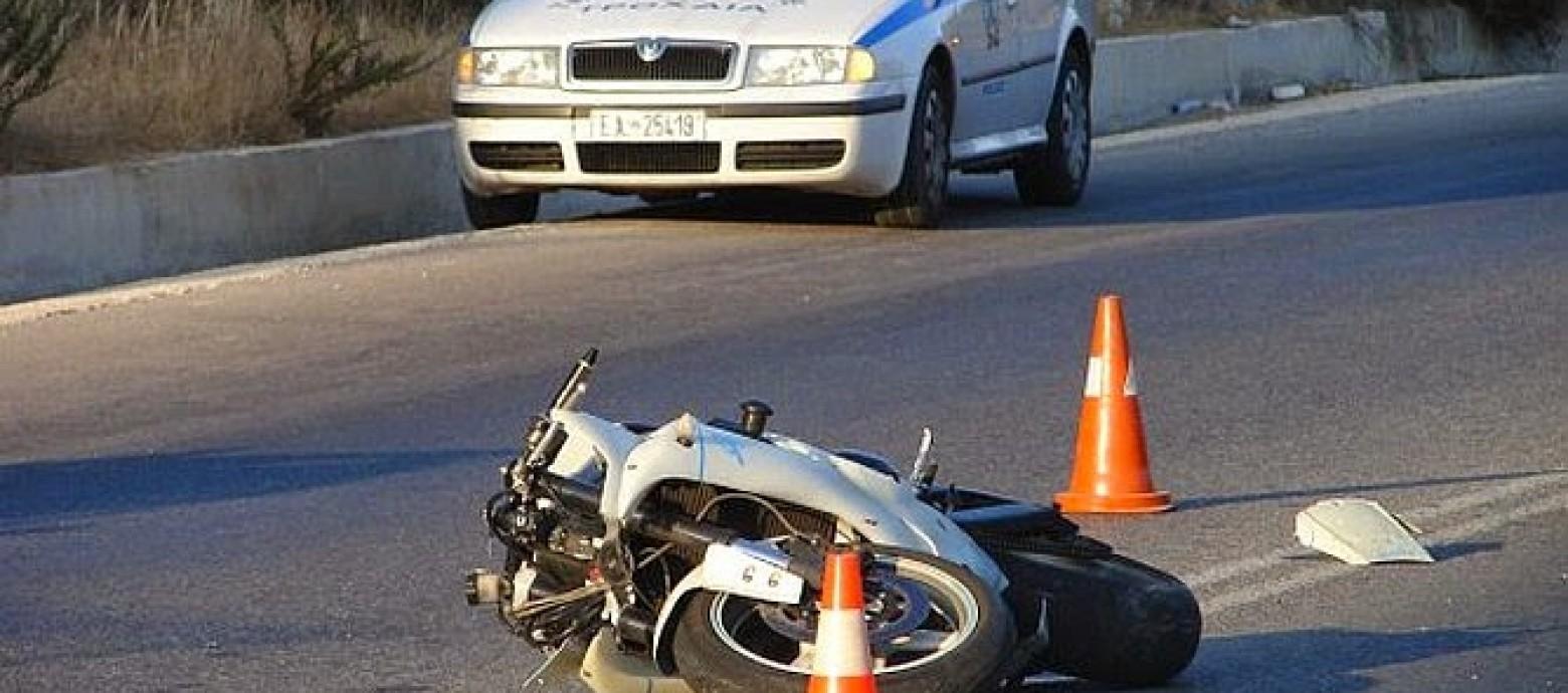 Θανατηφόρο τροχαίο  με μοτοσικλετιστή στα Χανιά