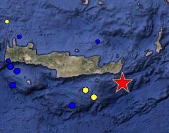 Ισχυρός σεισμός 5,5 Ρίχτερ ταρακούνησε την Κρήτη