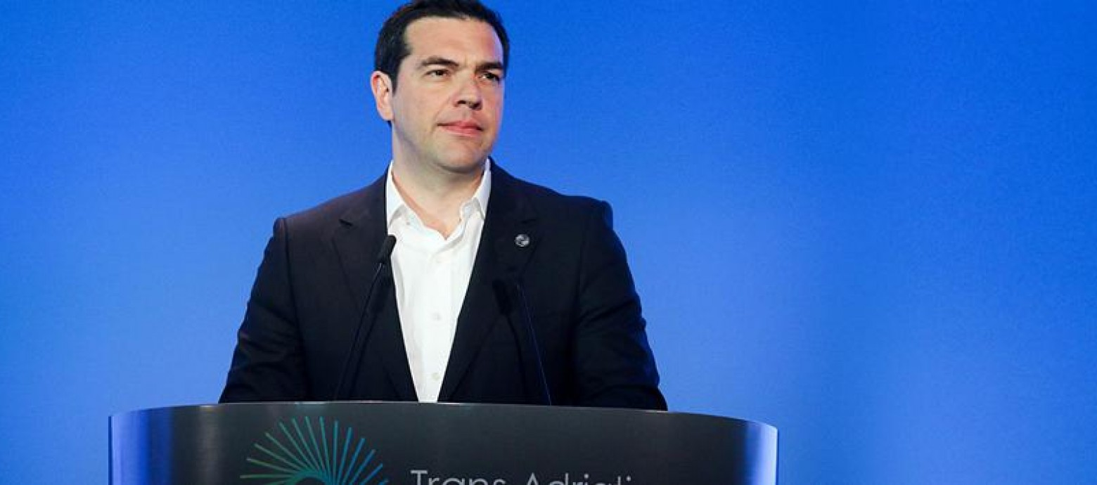 Τσίπρας: Την είσοδο της Ελλάδας σε μια νέα εποχή σηματοδοτούν τα εγκαίνια του ΤΑΡ