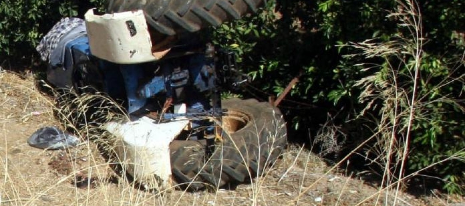 Ηράκλειο: Τον καταπλάκωσε το τρακτέρ και έχασε τη ζωή του