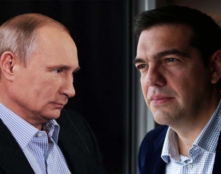 Σειρά διακηρύξεων και συμφωνιών θα υπογράψουν οι Τσίπρας-Πούτιν