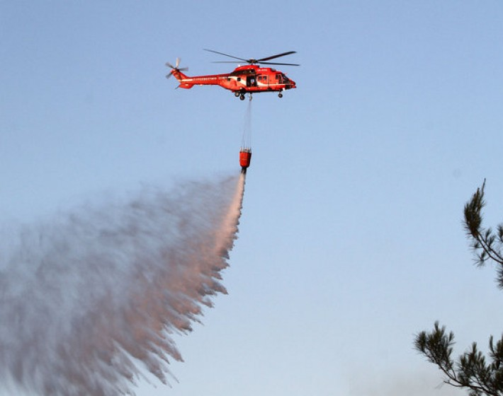 Απο πρώτη Ιουνίου δύο πυροσβεστικά ελικόπτερα στην Κρήτη