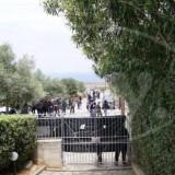 Αντιφασιστική διαμαρτυρία στο Γερμανικό νεκροταφείο