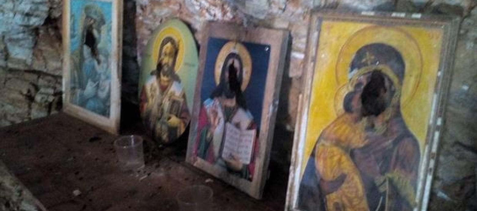 Ιερόσυλοι βεβήλωσαν το εκκλησάκι της Παναγίας Σπηλιώτισσας