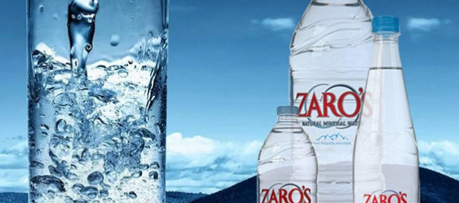 «ZARO'S» Το καλύτερο εμφιαλωμένο νερό του κόσμου