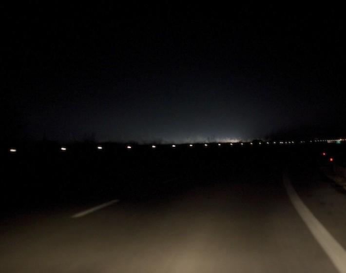 Αναβόσβηναν τα φώτα της εθνικής οδού Ηρακλείου Γαζίου (video)