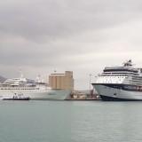 Δύο κρουαζιερόπλοια στο λιμάνι της Σούδας σήμερα