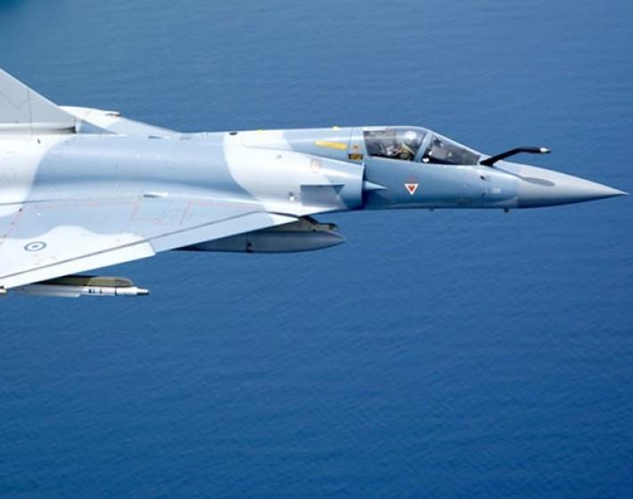 Πτώση αεροσκάφους Mirage στις Σποράδες – Σώος ο πιλότος