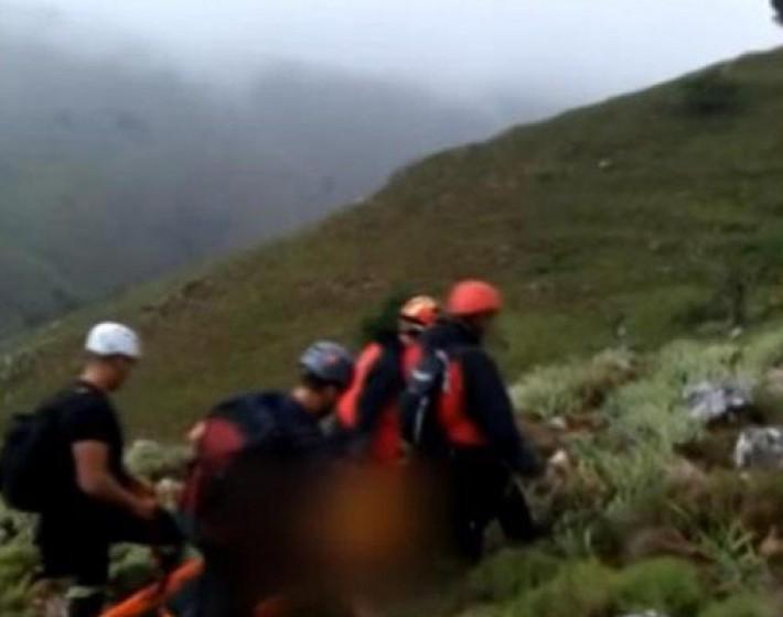 Βίντεο-ντοκουμέντο από την ανάσυρση της 40χρονης ορειβάτισσας