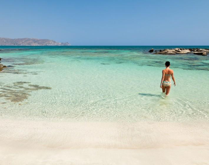 Στην… Καραϊβική της Κρήτης πηγαίνεις περπατώντας