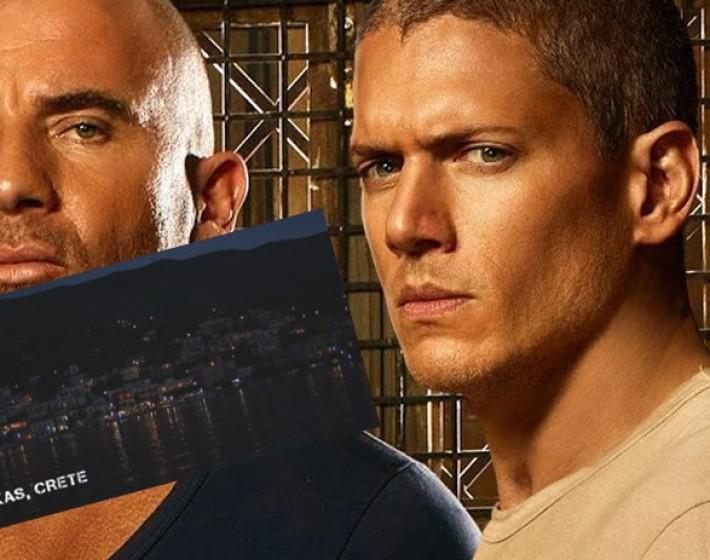 Το νέο επεισόδιο του Prison Break περνάει απο την Κρήτη