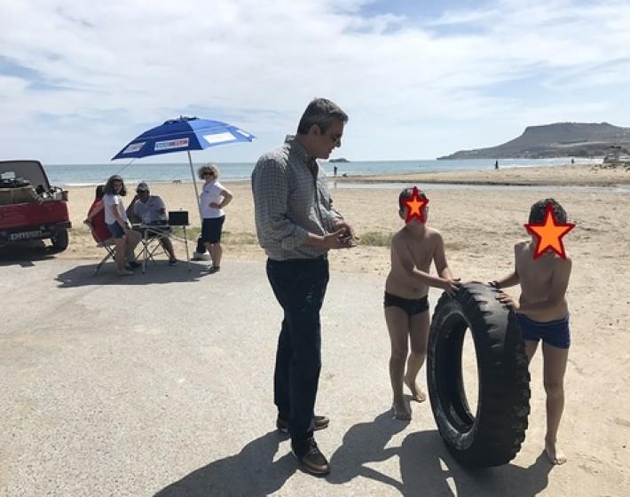 Πάμε για μπάνιο στο Καρτερό – Έτοιμη η παραλία