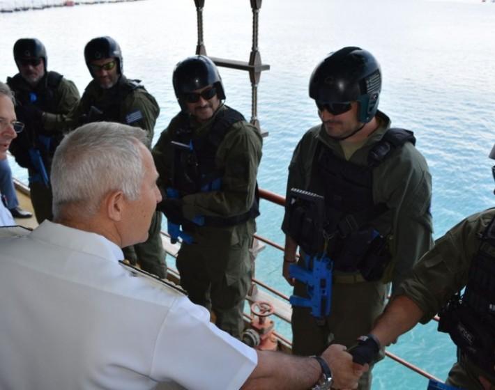 Χανιά:  Επίσκεψη του Ανώτατου Διοικητή του ΝΑΤΟ
