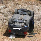 Ηράκλειο:Αυτοκίνητο έπεσε σε γκρεμό