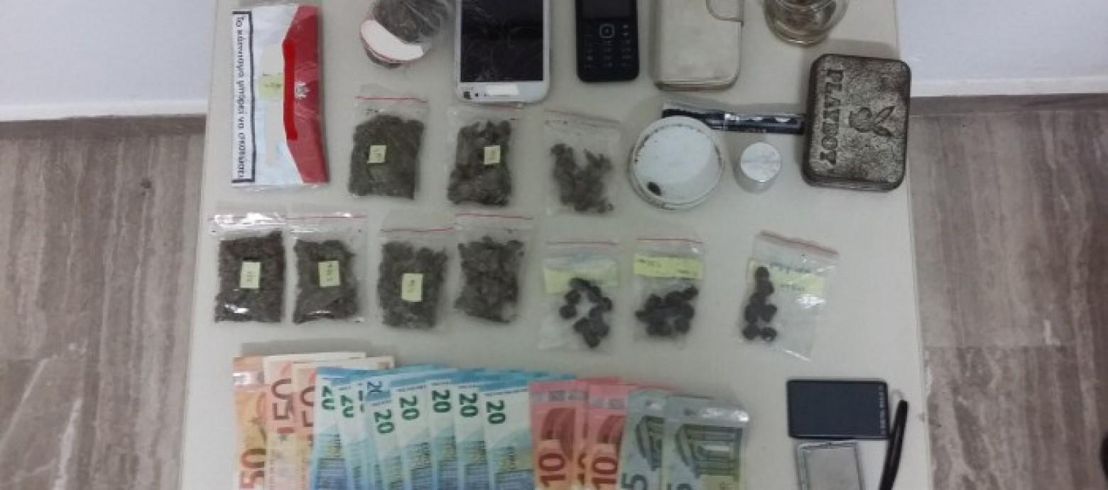 Συνελήφθησαν δυο άνδρες και μια γυναίκα  για κατοχή και διακίνηση ναρκωτικών