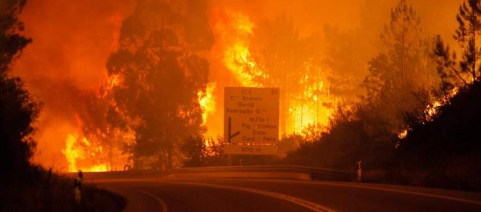 Φονική πυρκαγιά στην Πορτογαλία-Δεκάδες νεκροί