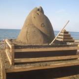Ξεκίνησε το 2ο Φεστιβάλ Γλυπτικής στην άμμο στην Αμμουδάρα