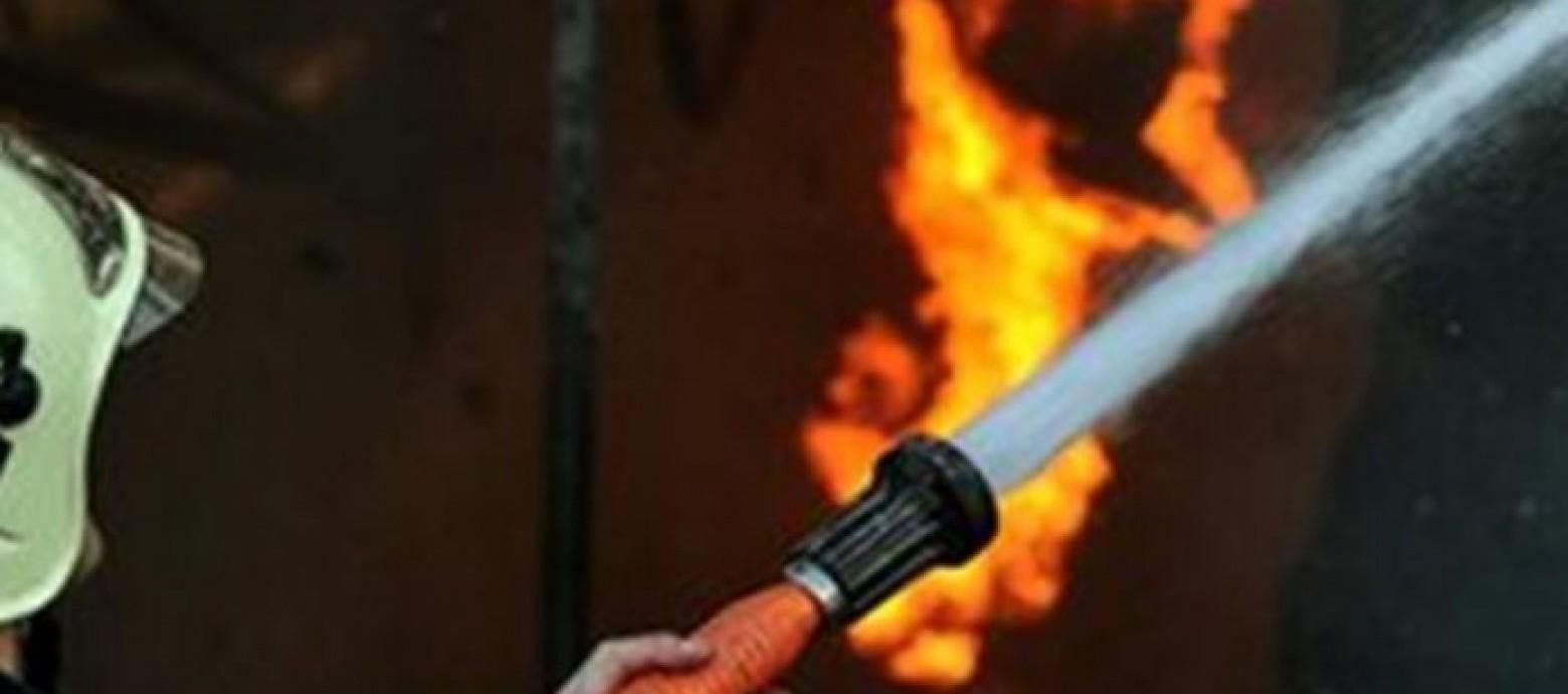 Χανιά: Φωτιά σε πιτσαρία
