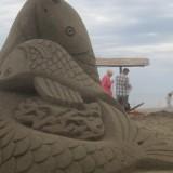 Ηράκλειο: Εκπληκτικές εικόνες από το φεστιβάλ γλυπτικής στην άμμο