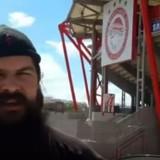 «Ειδωλολατρικός ναός το Καραϊσκάκη, έχουν για Θεό τον Ολυμπιακό»