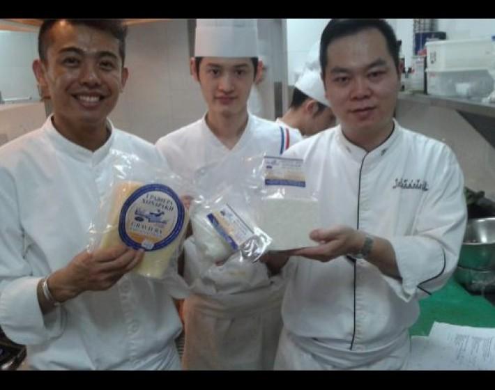 Στην Κίνα  έφτασε η Κρητική κουζίνα
