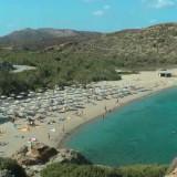 Bάι: Η εξωτική παραλία με τους μινωϊκούς «φοίνικες του Θεόφραστου»
