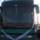 Ηράκλειο: Ο γαμπρός έκανε «σαματά» φτάνοντας με 15 λεωφορεία (video)