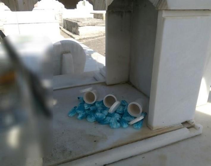 Χανιώτης έκρυβε ναρκωτικά σε τάφο