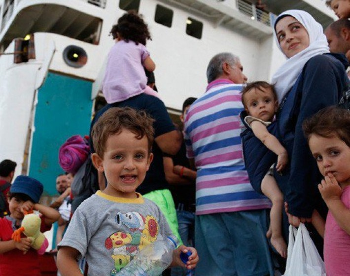 Έφτασαν στο Ηράκλειο οι πρώτοι πρόσφυγες