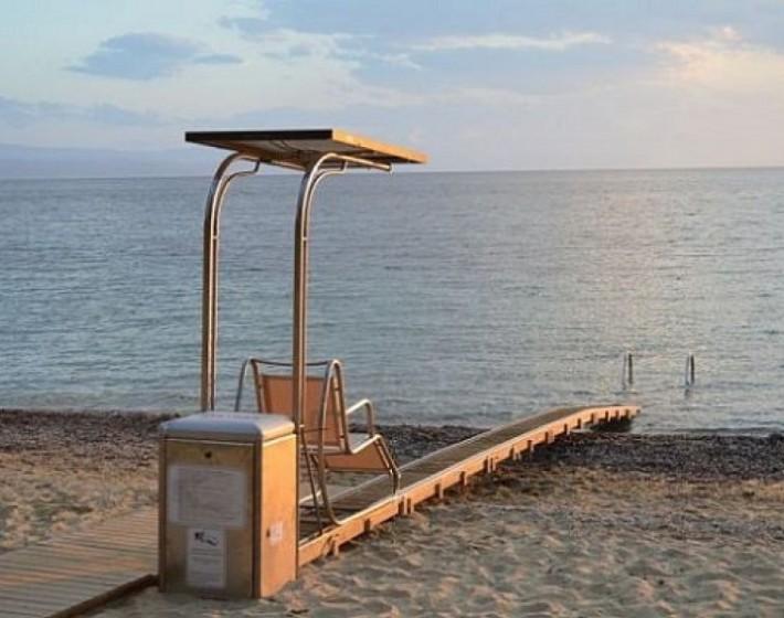 Ηράκλειο: Συσκευή αυτόνομης πρόσβασης των ΑμεΑ  στην παραλία Καρτερού