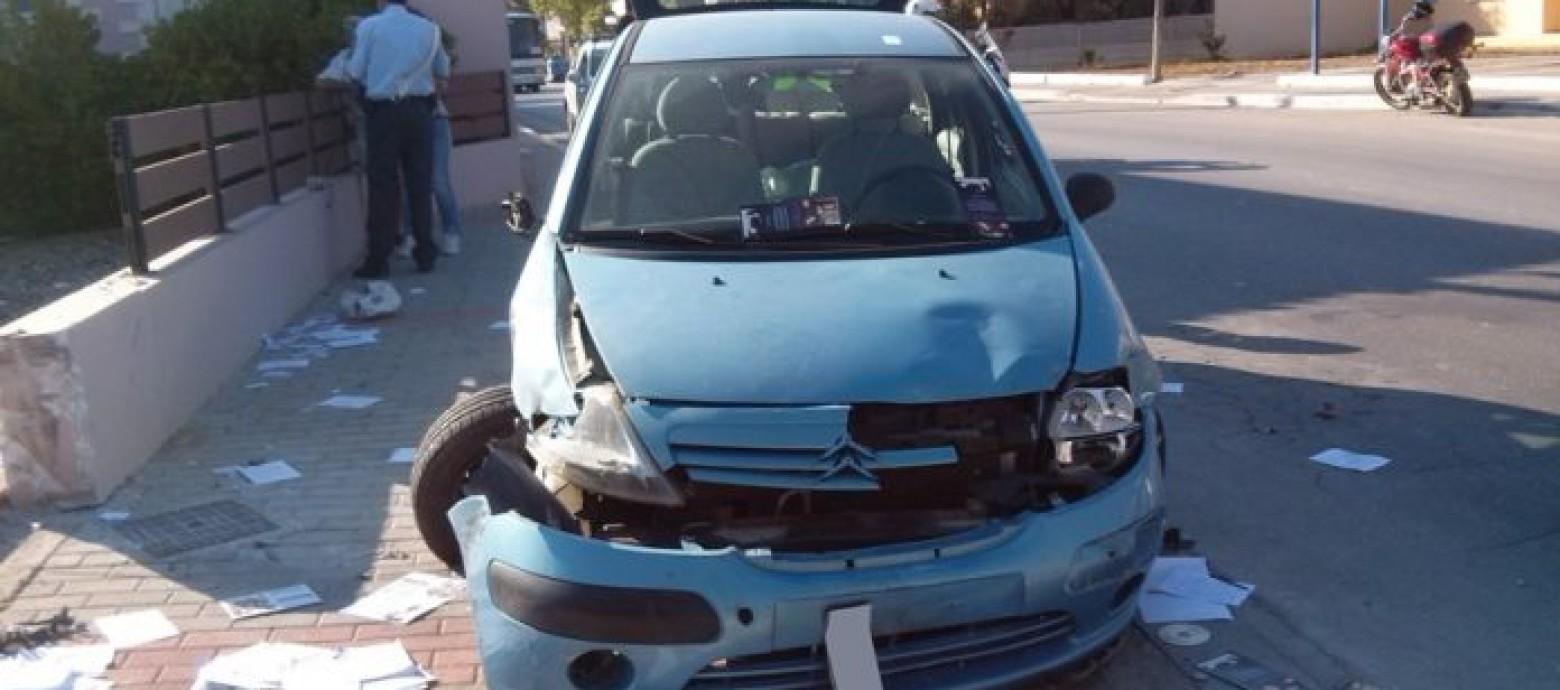 Χανιά: Τροχαίο ατύχημα στο  Σταλό