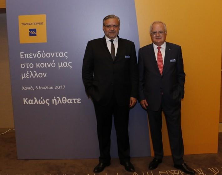 Μισό δις ευρώ σε επιχειρήσεις της Κρήτης από την Τράπεζας Πειραιώς