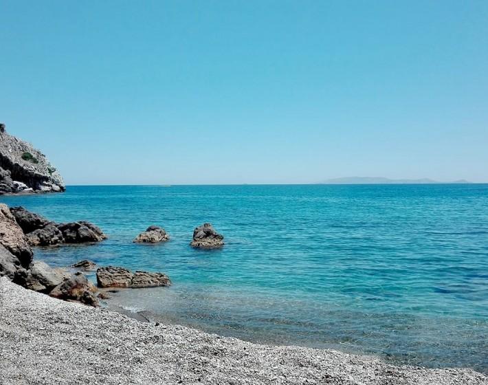 Παραλία Χελιδόνι ένας παράδεισος 5 λεπτά από τα όρια της πόλης του Ηρακλείου