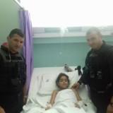Αστυνομικοί έσωσαν 8χρονη με κομμένη μηριαία αρτηρία