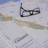 «Citta di Candia» Η Παλιά Πόλη του Ηρακλείου σε έναν χάρτη