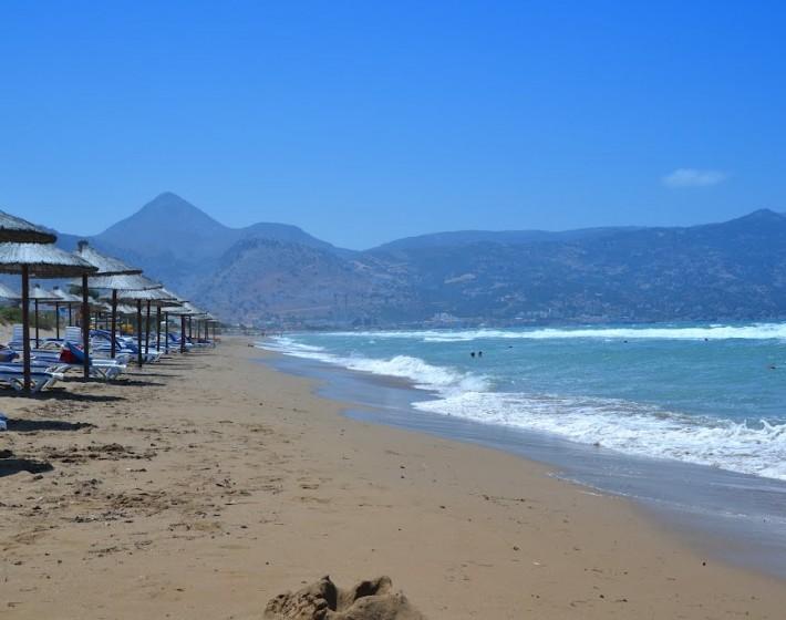 Πεντακάθαρη η παραλία της Αμμουδάρας