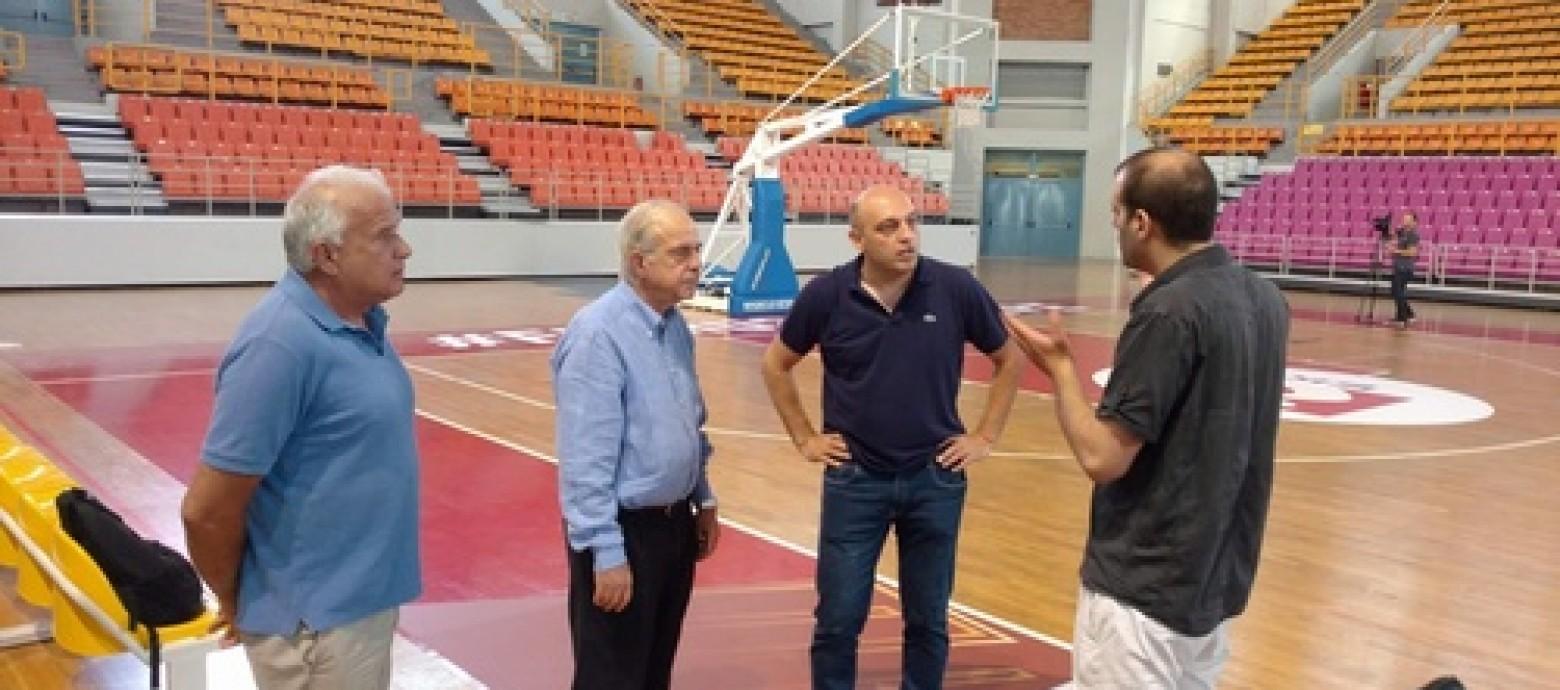 Πανέτοιμο το Νέο Κλειστό Γυμναστήριο Ηρακλείου για το Ευρωμπάσκετ Νέων Ανδρών