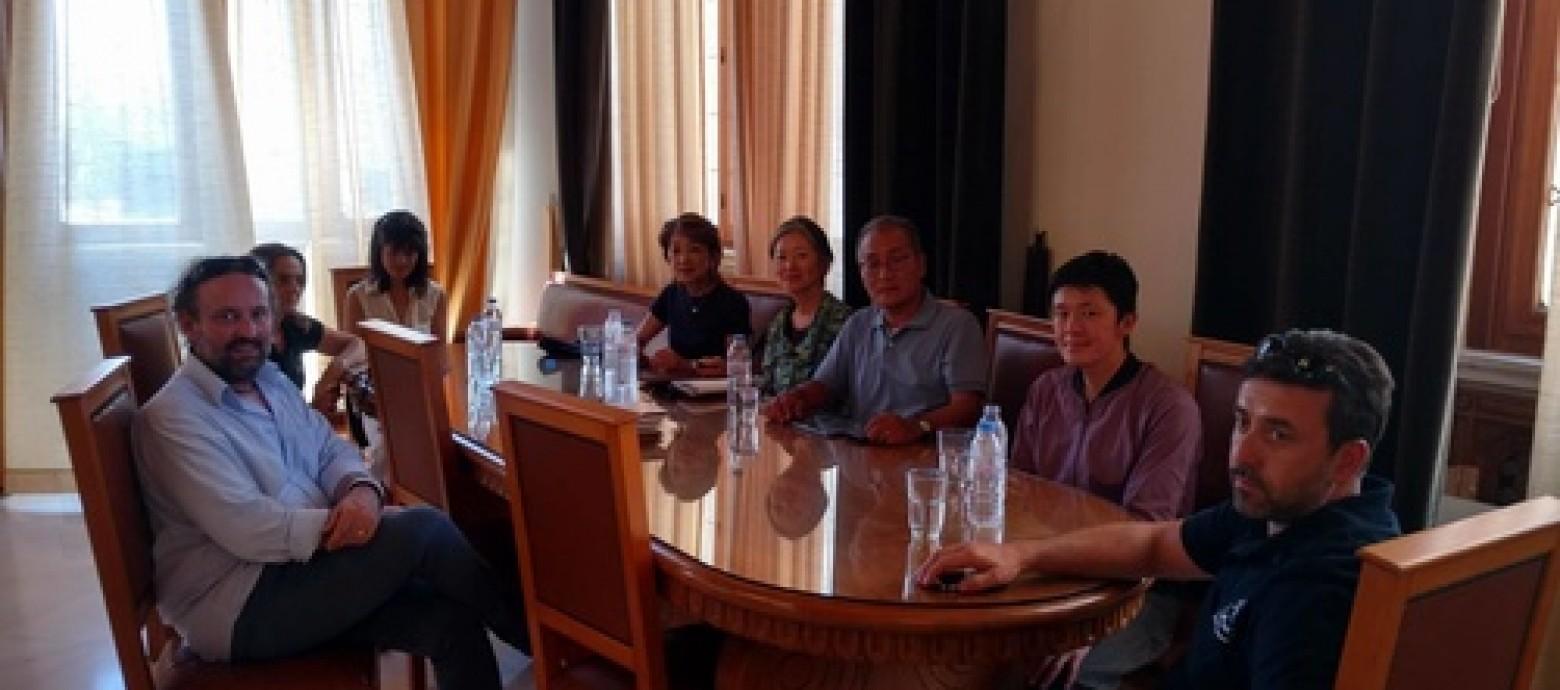 Επίσκεψη Ιαπώνων επιχειρηματιών στην Λότζια