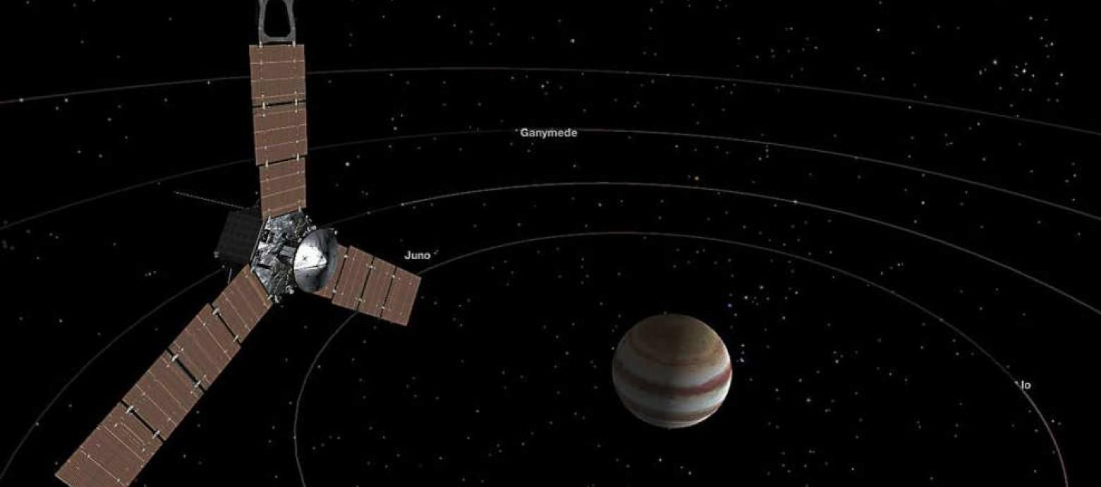 NASA: Το διαστημόπλοιο Juno μεταδίδει εικόνες για τον πλανήτη Δία (video)