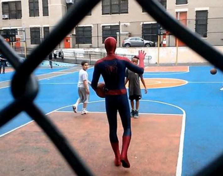 Ο SPIDERMAN επισκέφθηκε το Μάλεμε