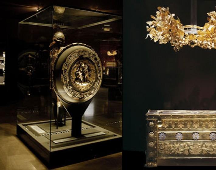 Μυστηριώδης γυναίκα ψέκασε με άγνωστο υλικό εκθέματα στο Μουσείο της Βεργίνας