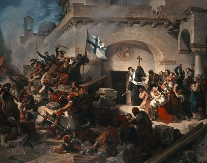 Το ολοκαύτωμα της Μονής Αρκαδίου