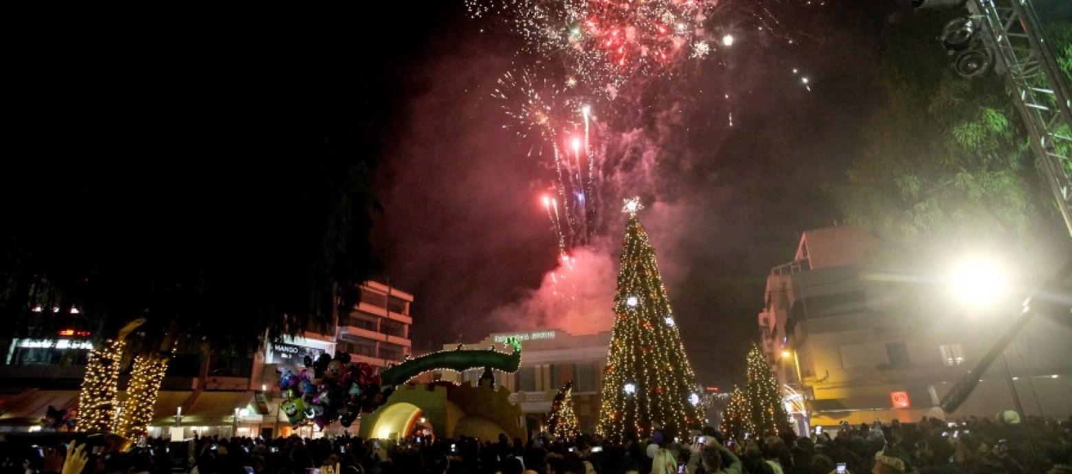 1η Δεκεμβρίου η φωταγώγηση του Χριστουγεννιάτικου δέντρου στο Ηράκλειο